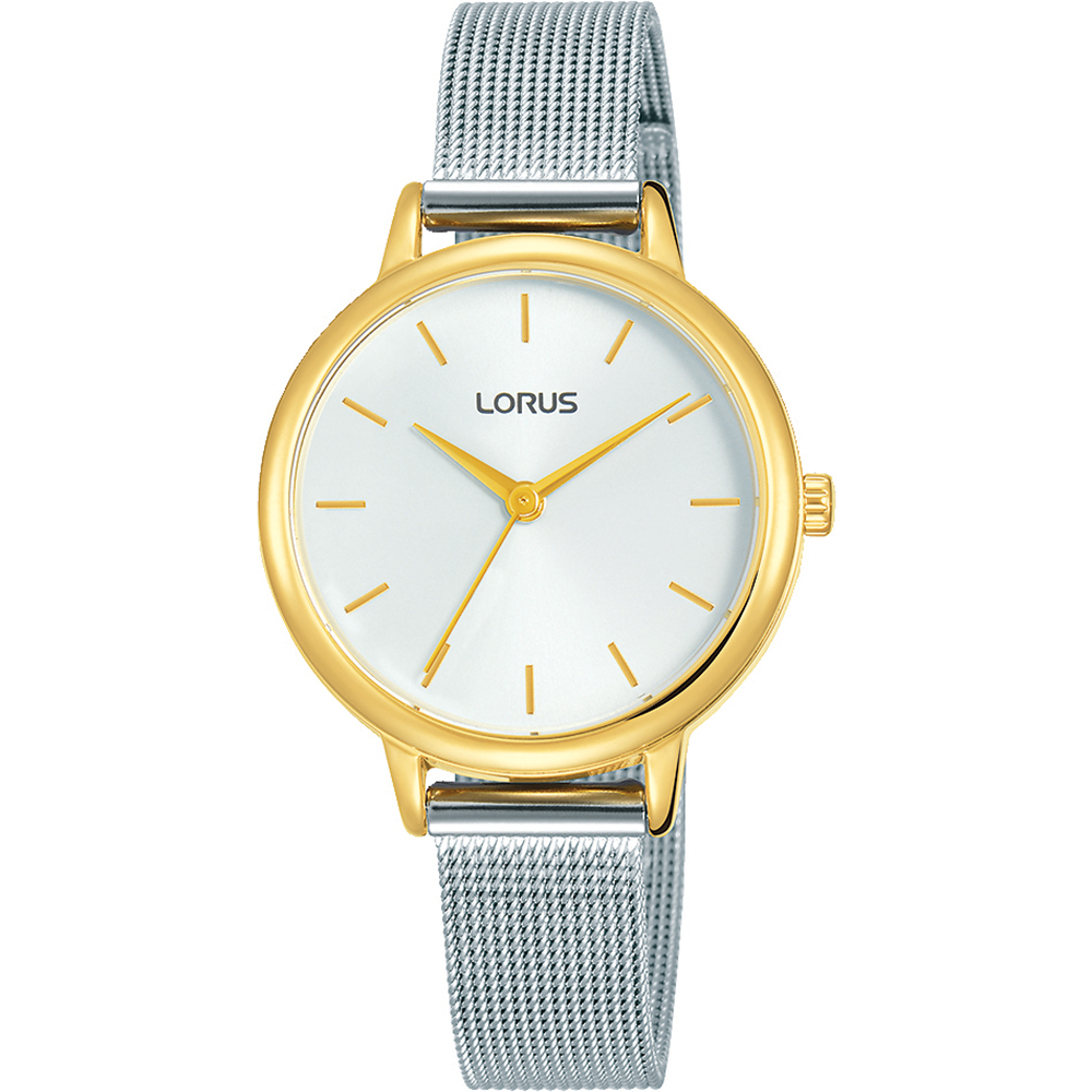 Lorus RG250NX-9 Silver Tone Mesh Womens Watch