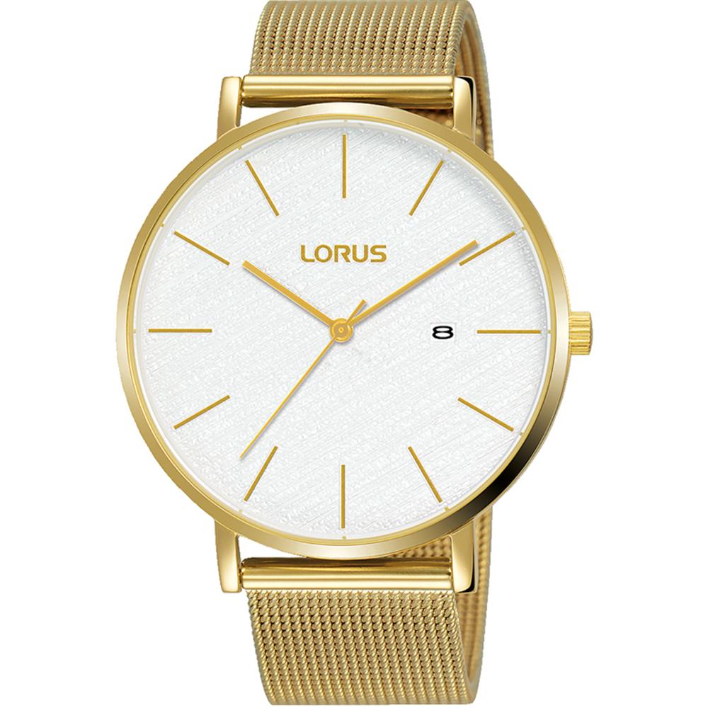 Lorus RH910LX-9 Gold Tone Mesh Mens Watch