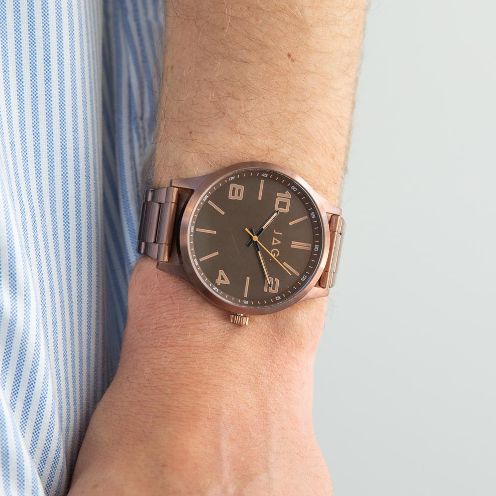 JAG J2485A Mitchell Bronze Tone Mens Watch