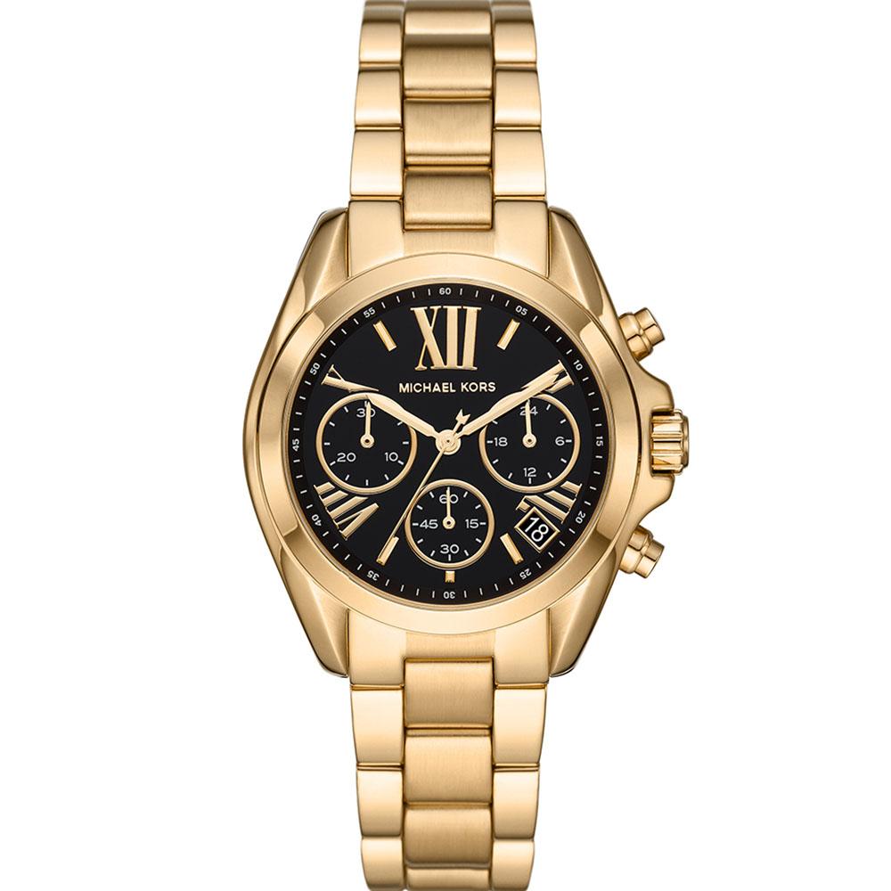 Michael Kors MK6959 Black Dial Gold Tone Womens Watch