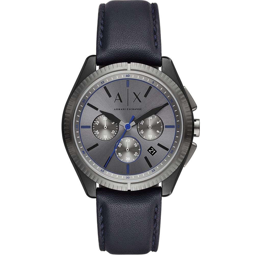 Armani Exchange AX2855 Gun Metal and Navy Mens Watch