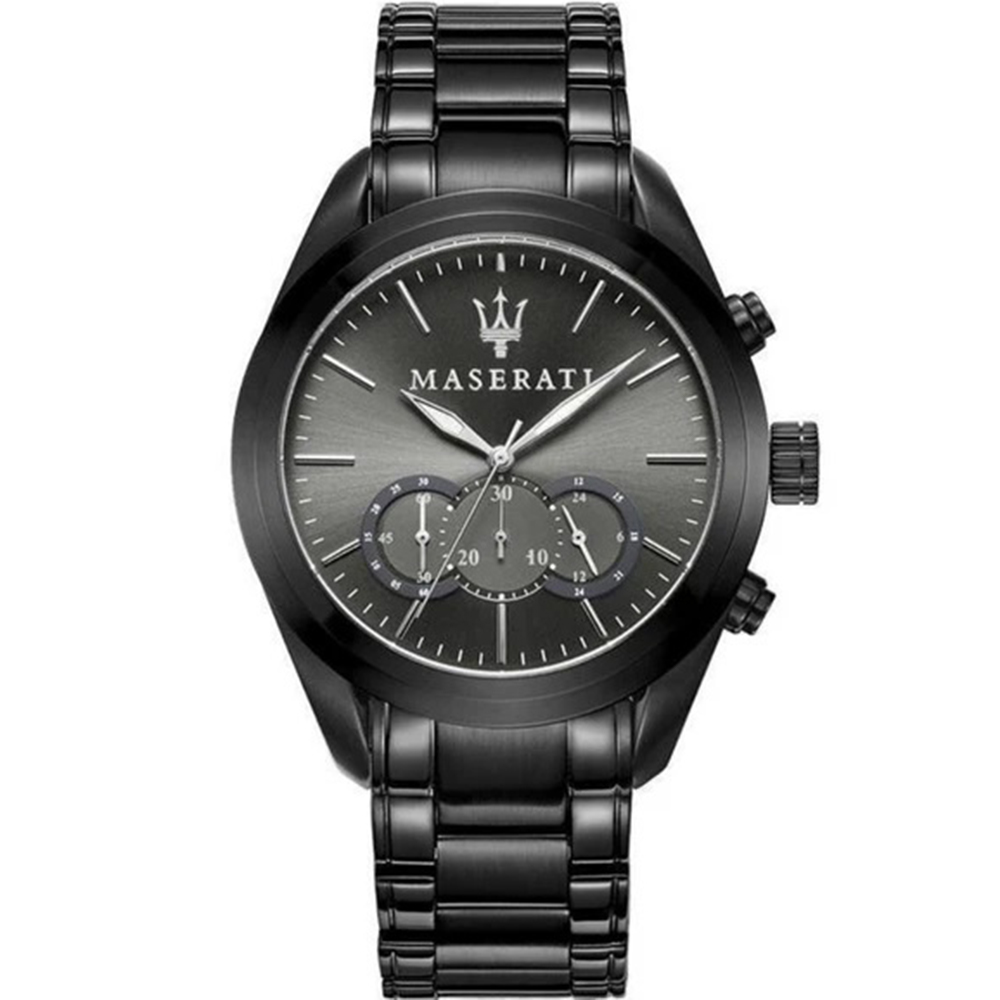 Maserati R8873612002 Traguardo Gun Grey Chronograph Mens Watch
