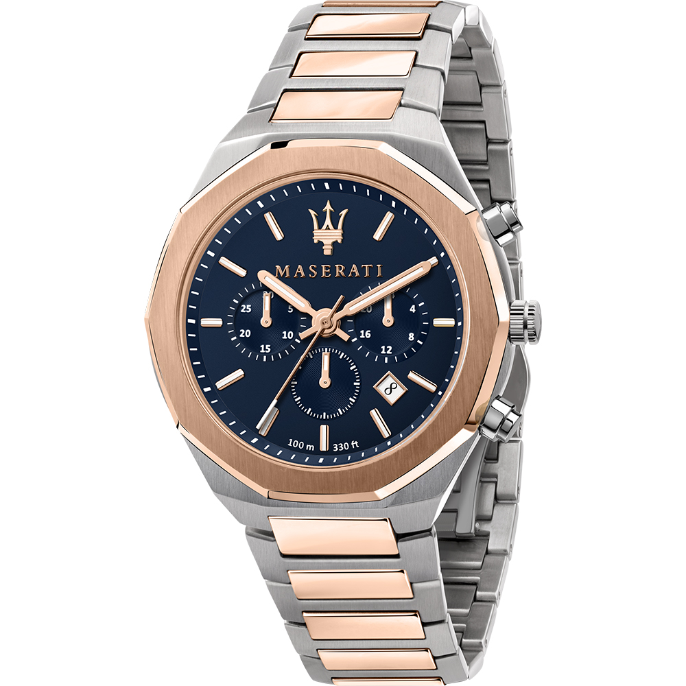 Maserati R8873642002 Stile Two Tone Mens Watch
