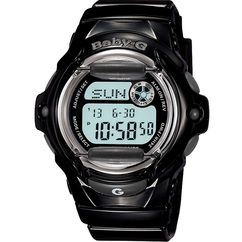 Baby-G BG169R-1 Black Digital watch