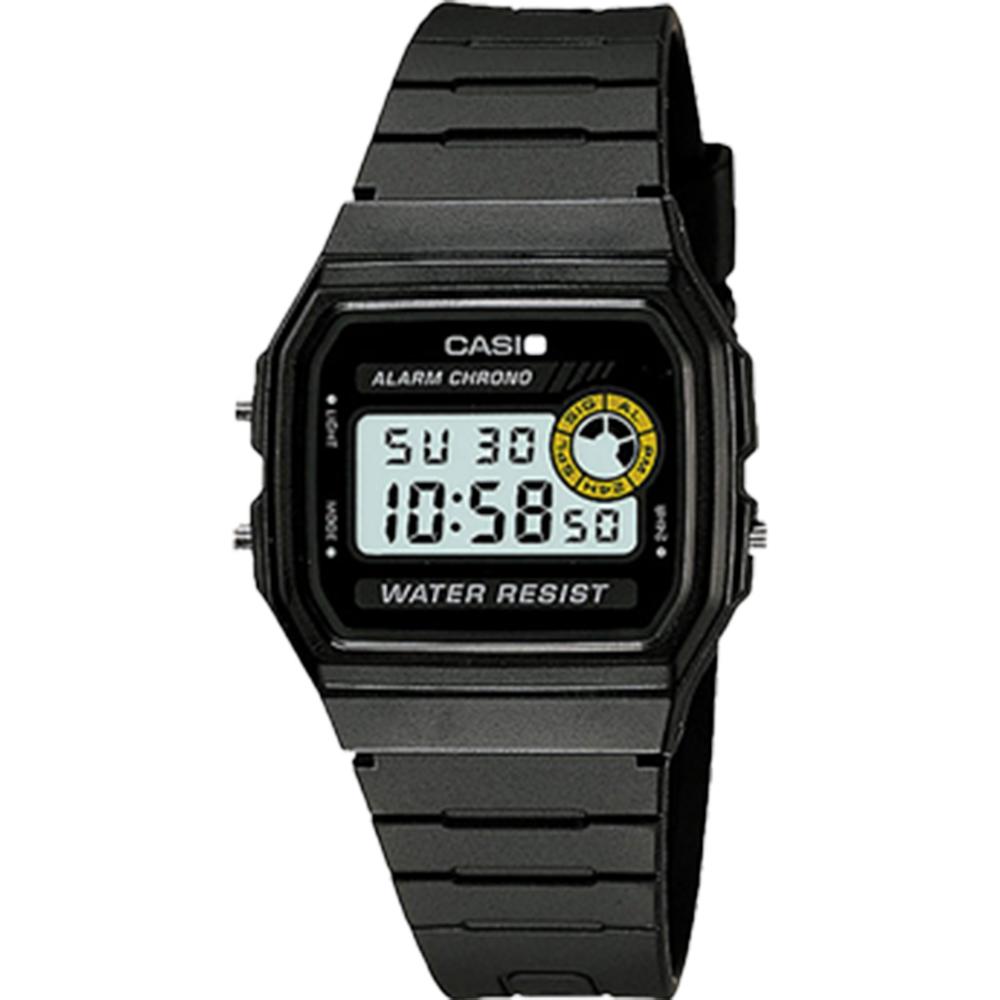 Casio Digital F94WA-8D Black Resin Unisex Watch