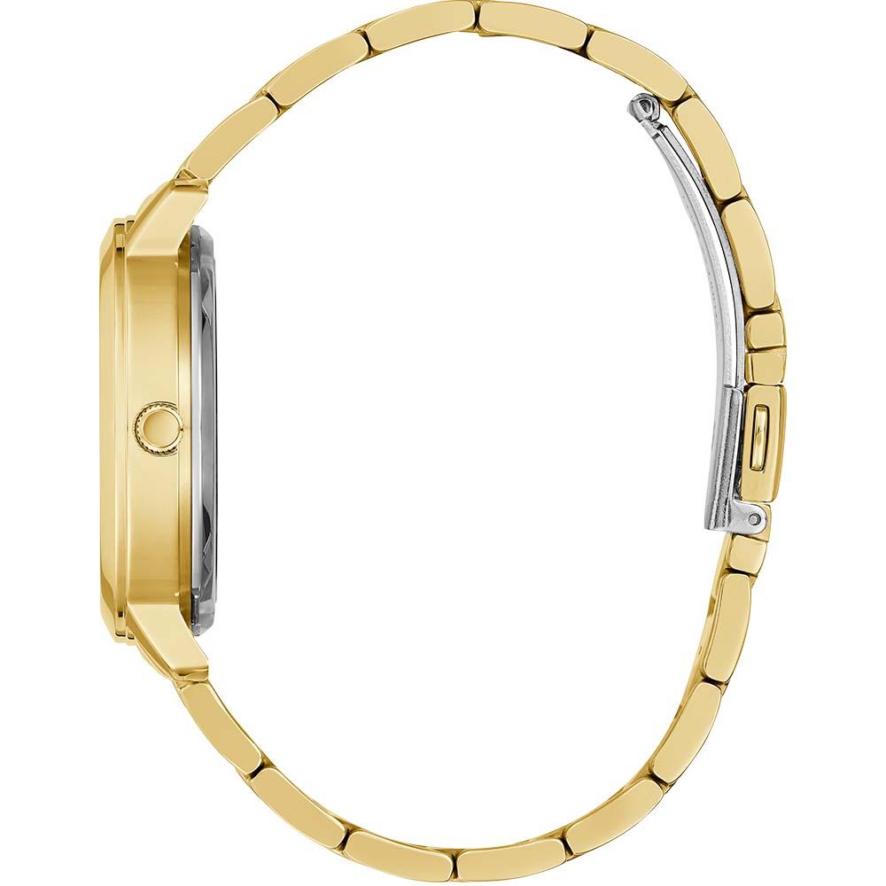 Guess GW0300L2 Quattro Clear Gold Tone Womens Watch