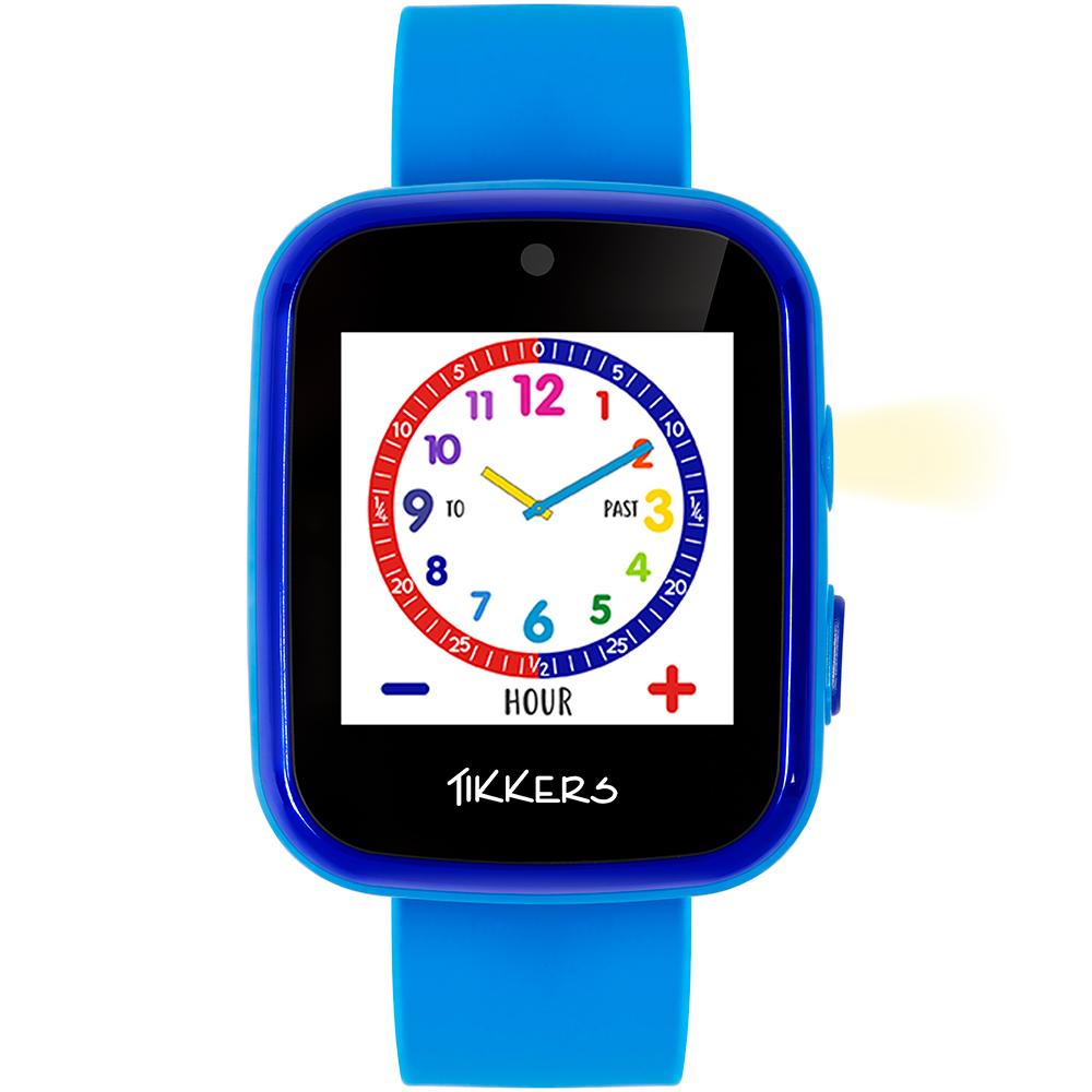 Tikkers Interactive Smart Watch ATK1084BLU Blue Kids Watch