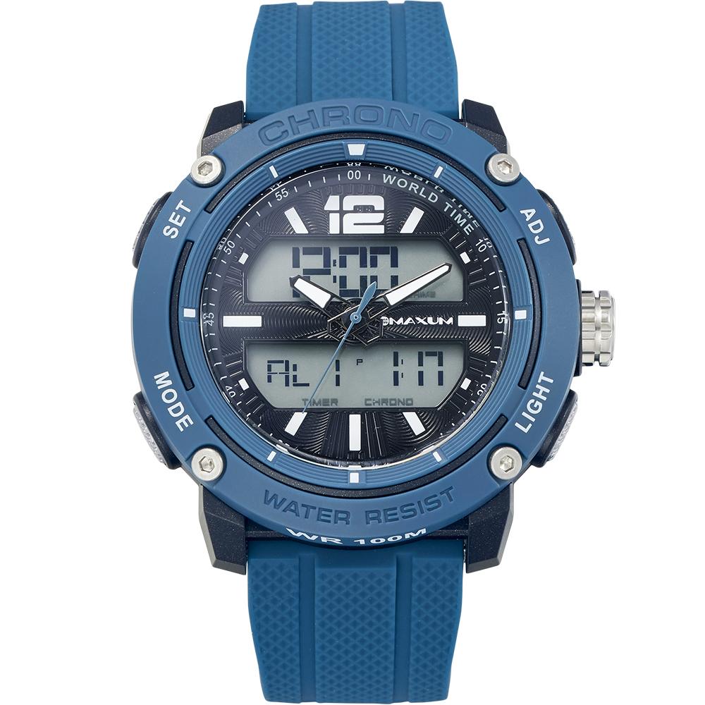 Maxum Conquest X2013G2 Blue and Black Mens Watch