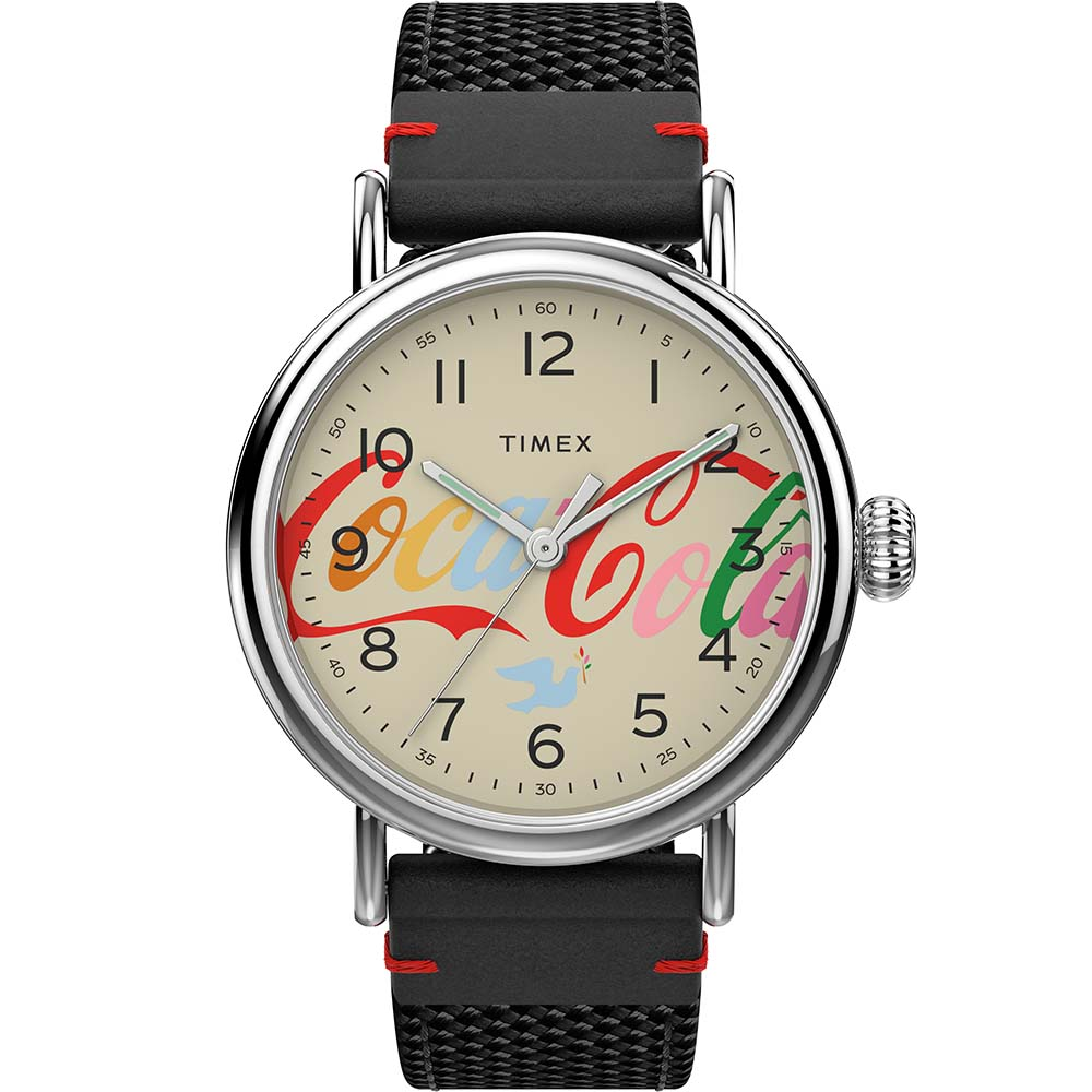 Timex TW2V26000 Coca Cola Theme Limited Edition
